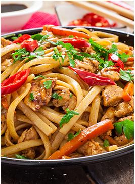 153. Chicken Chow Mein