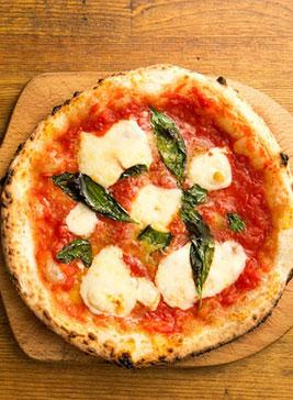 7. Cheese Tomato Pizza